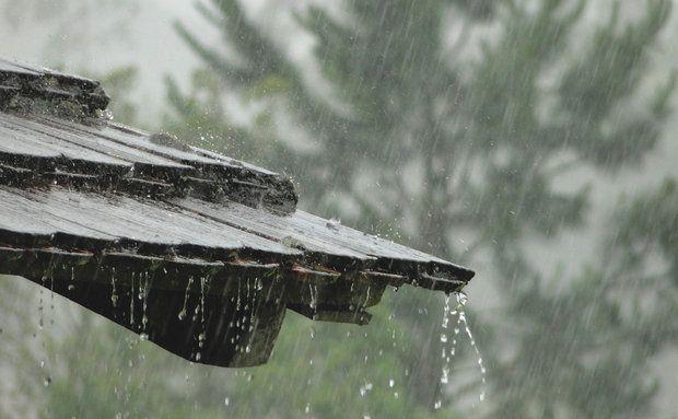 Resultado de imagem para chuva fina no telhado