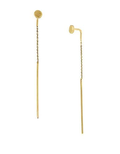 Diane Von Furstenberg Summer Disco Linear Pull-Through Earrings Women'