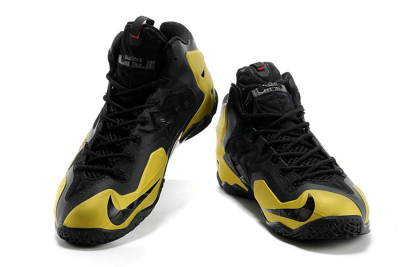 more photos 7e9e5 43d59 Nike Lebron 11 Basketball Shoes For Men Yellow Black New  Mens New Arrived Nike  Lebron 11 Basketball Shoe Yellow Black  -  78.99   North Face Hot Sale and  ...