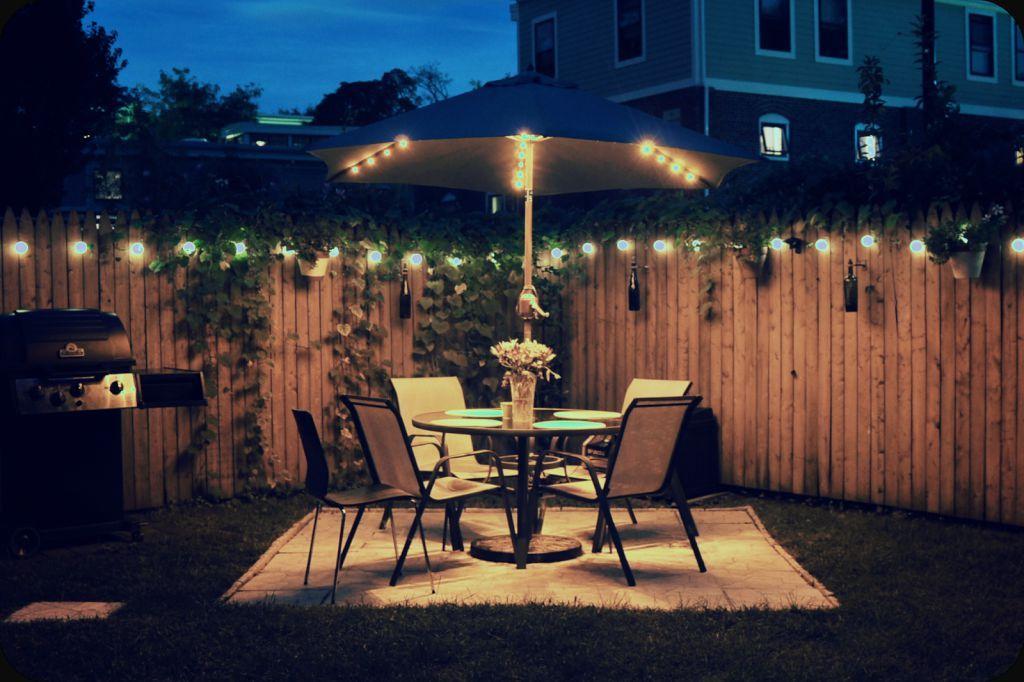 Outdoor Solar Patio Lighting Backyard Solar Lights Solar Patio Lights Backyard Lighting