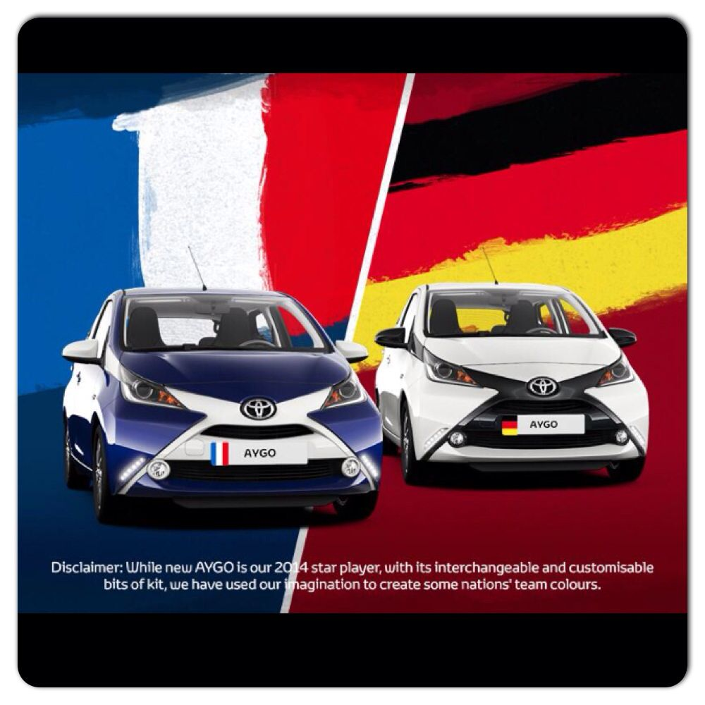 Check Out This Colour Combination For The New Toyota Aygo