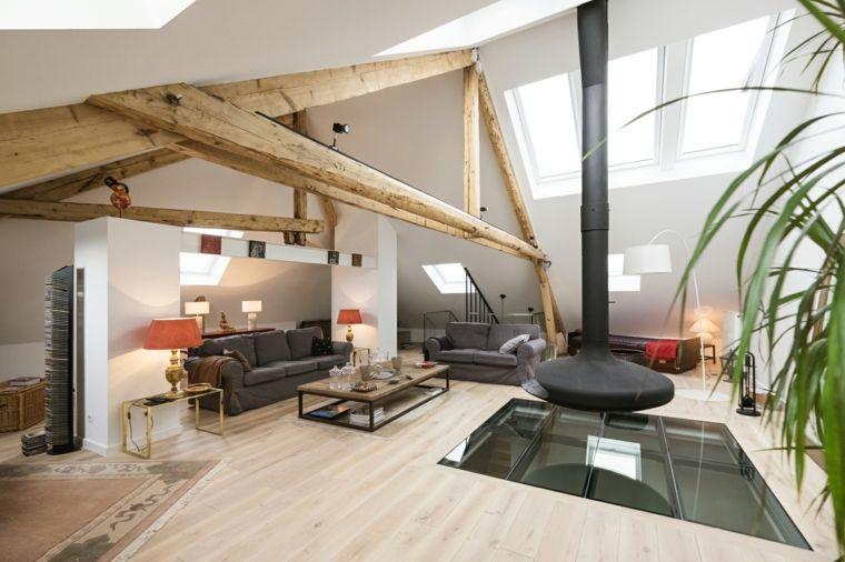 Arredare Con Stile Moderno.Come Arredare Mansarda Open Space In Stile Moderno Con