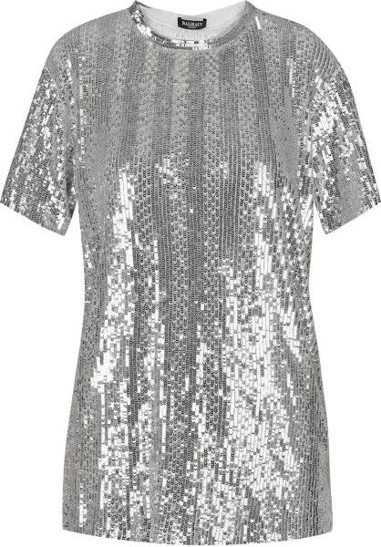 dbc8b4d092c Silver Sequin Tops for Women