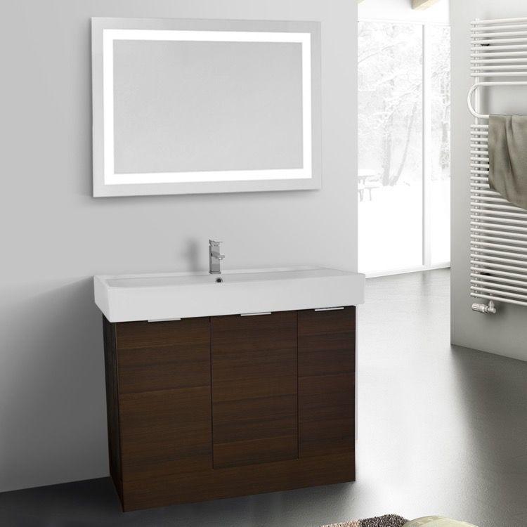Bathroom Vanity Arcom O4O42 40 Inch Larch Canapa Floor Standing Pleasing 40 Inch Bathroom Vanity Design Inspiration