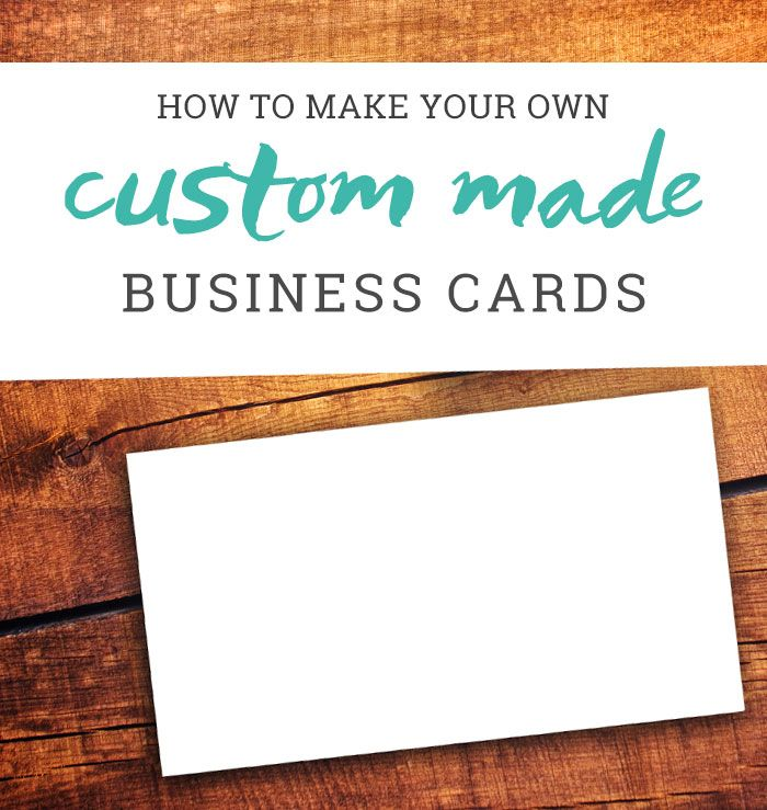 How To Make Your Own Business Cards A Tutorial Business Cards Digital Business Card Free Business Cards