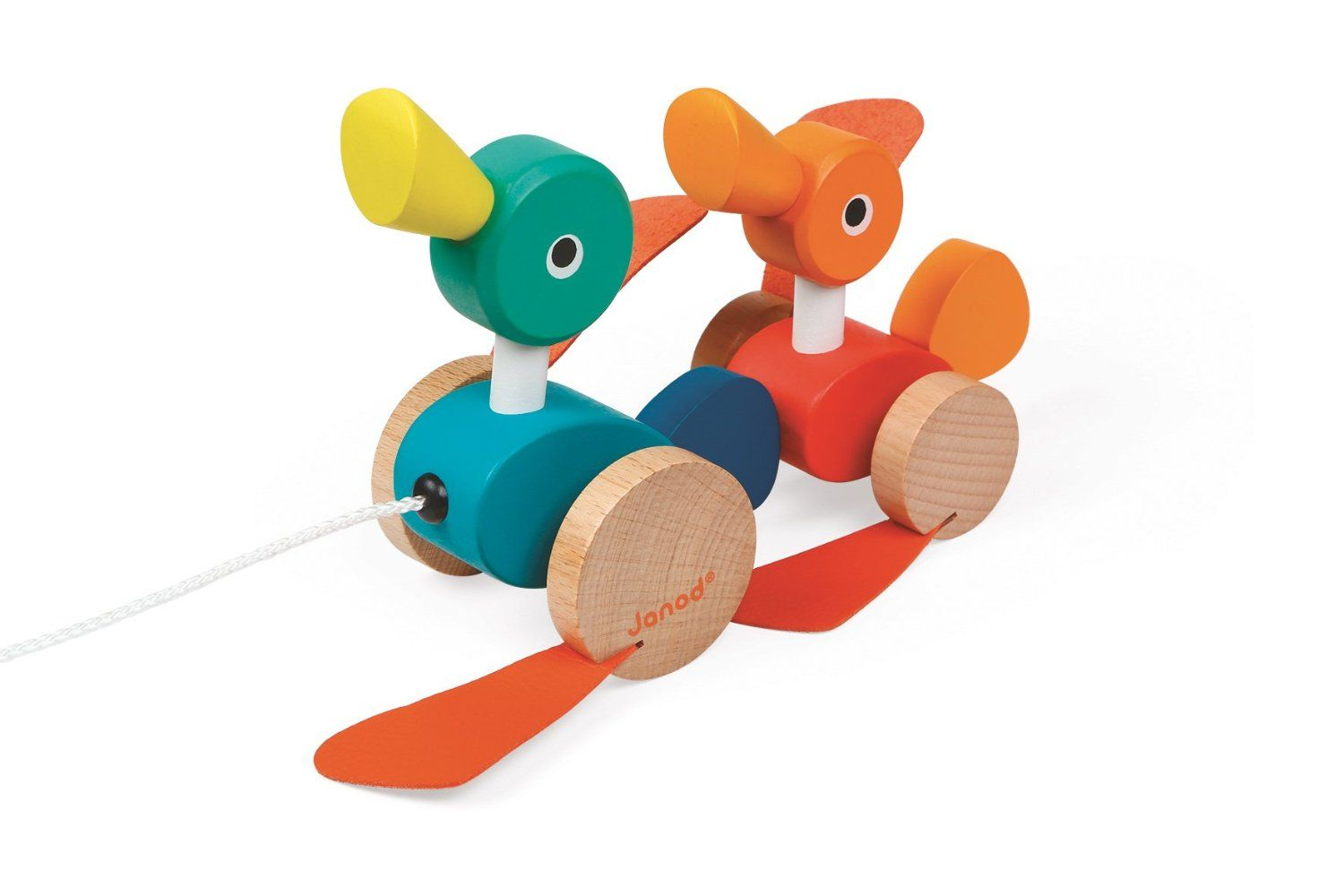 Janod Duck Family Pull Along Toy: Amazon.co.uk: Toys & Games