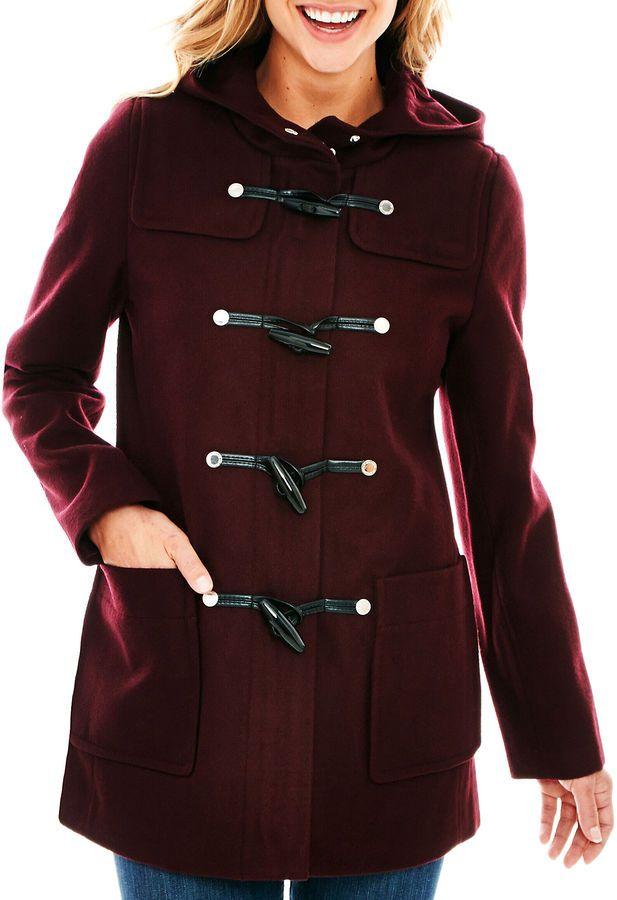 Pin by Lookastic on Duffle & Toggle Coats | Coat, Duffle