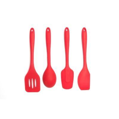Core Kitchen Essential Silicone Red Utensils Set Of 4 Hd18186 Utensil Set Kitchen Essentials Utensils