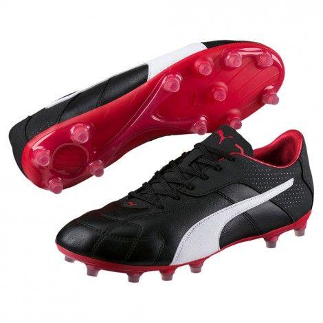 Puma Esito C FG 104215 voetbalschoenen puma black De Wit Schijndel