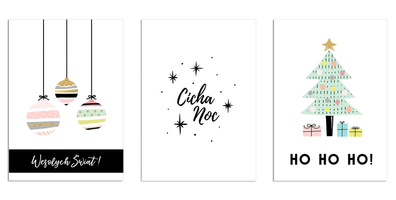 świąteczne Kartki I Plakaty Na Boże Narodzenie Do Pobrania I
