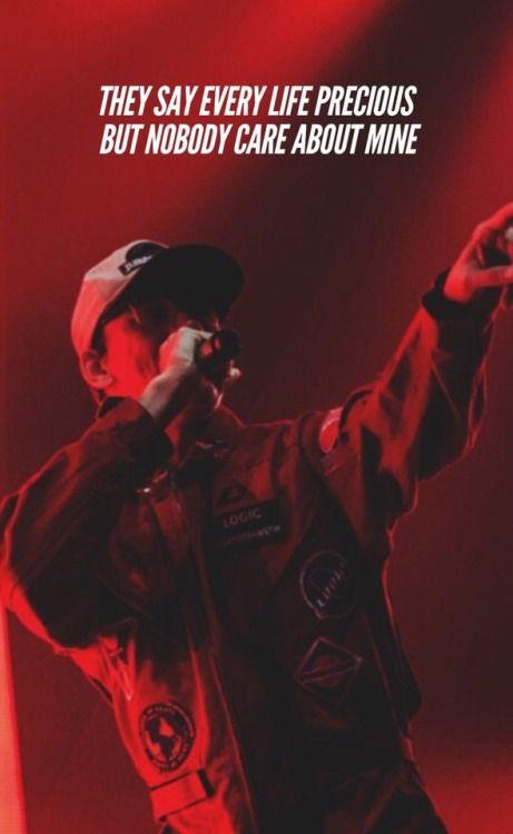 1 800 273 8255 Logic Ft Alessia Cara Logic Quotes Logic Rapper Quotes Logic Rapper