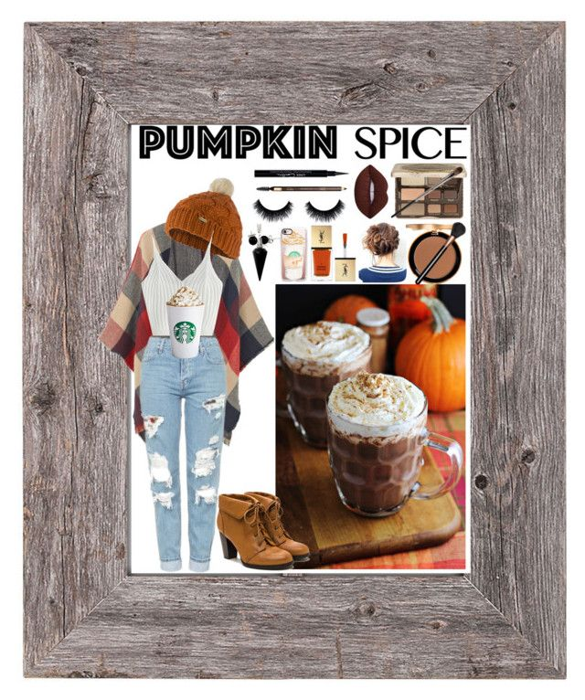 """""""PSL Time ☕️"""" by red-insanity-love on Polyvore featuring Too Faced Cosmetics, MANGO, Urban Decay, Givenchy, Topshop, Clarins, MAC Cosmetics, Bling Jewelry, BlackMoon and Barbour"""