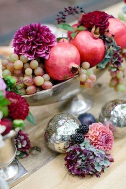 12 Yummy-Looking Wedding Centerpieces With Fruits And Vegetables: a ...