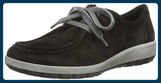 ara Damen Tokio Sneaker, Schwarz (lava 06), 38.5 EU