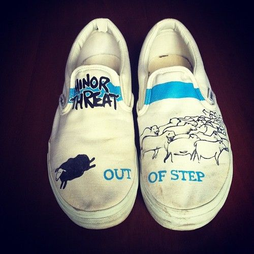 f94e1f9fc8f Minor Threat Vans. Would have loved these way long ago