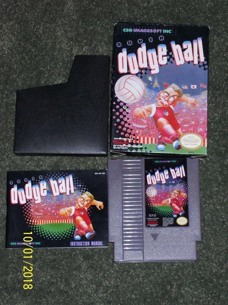 super dodge ball nintendo entertainment system 1989 nes cib box rh pinterest com Dodge Manual Steering Wheel Manual Dodge Ram Manual Transmission