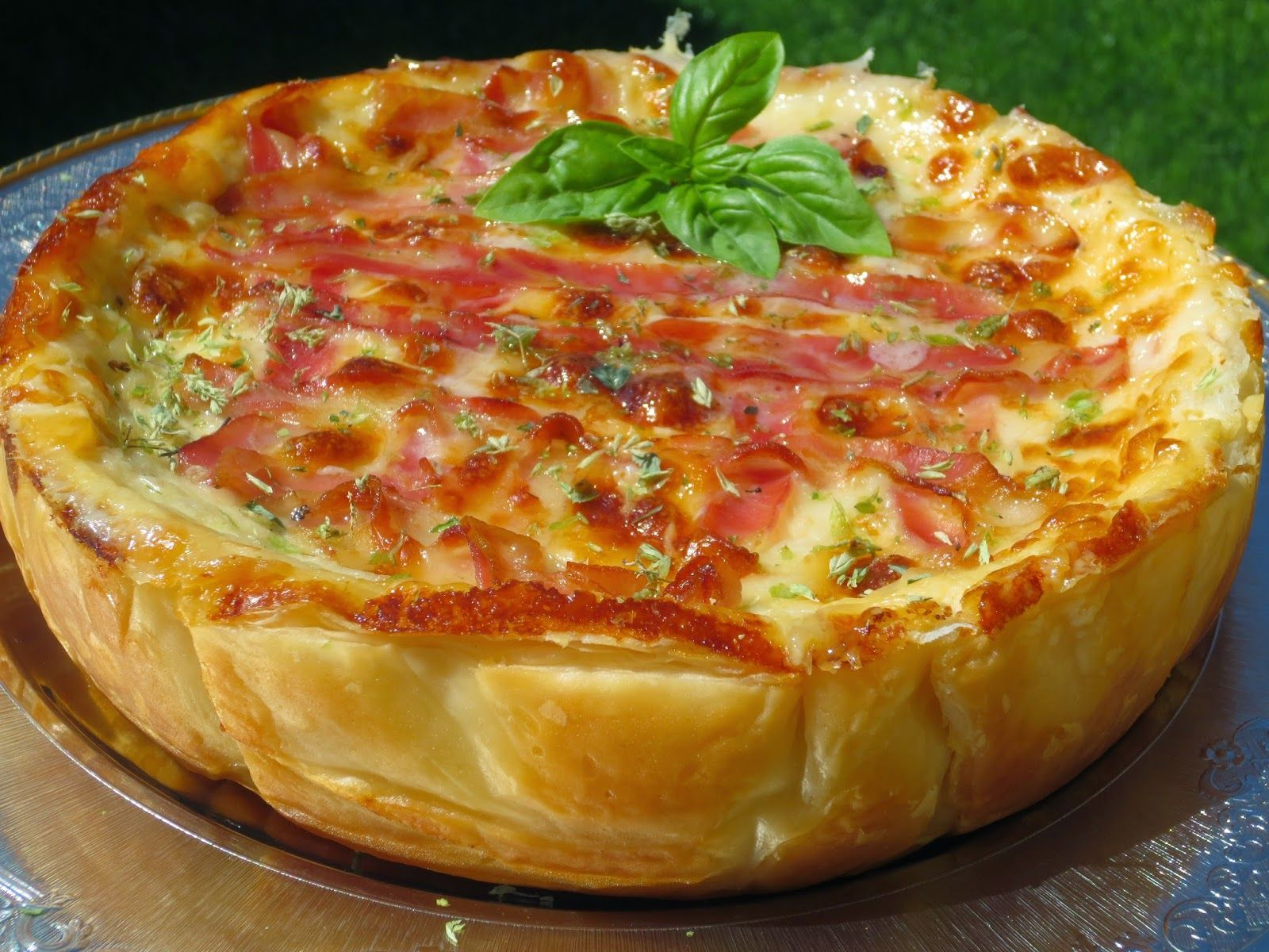Quiche de croque pizza ana sevilla cocina tradicional - Cocinas sevilla ...