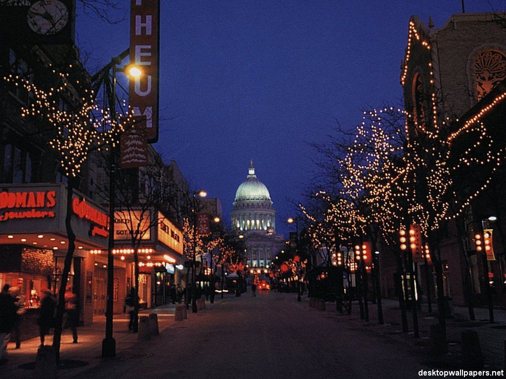 east side of state street Madison wisconsin, State