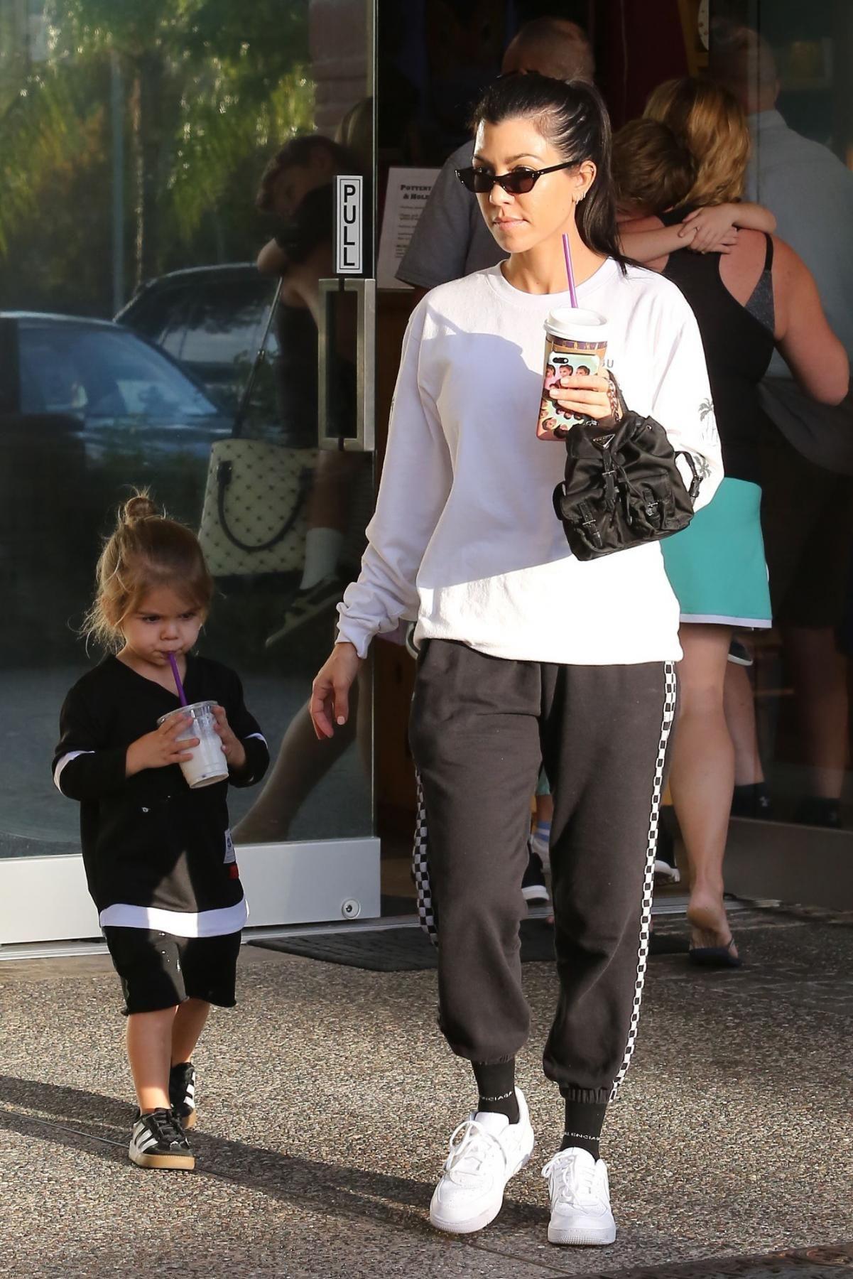 afa147a3a4 Kourtney Kardashian With Larsa Pippen November 24