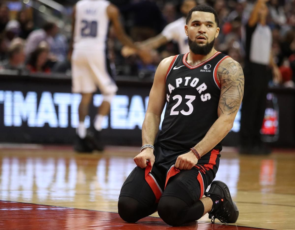Fred VanVleet Toronto Raptors in