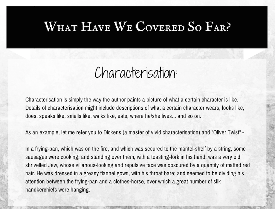 Characterisation definition | Wisdom. Definitions. Character