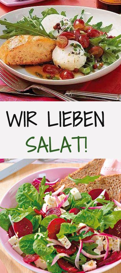 fleischlos gl cklich vegetarische salat rezepte. Black Bedroom Furniture Sets. Home Design Ideas