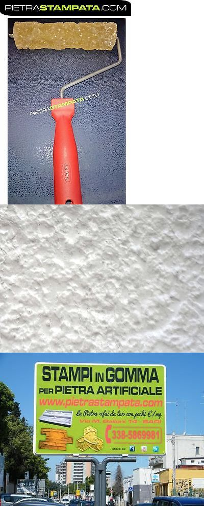 Slip Casting Molds And Kits 83898 Concrete Cement Landscape Curbing Imprint Roller Texture Wall