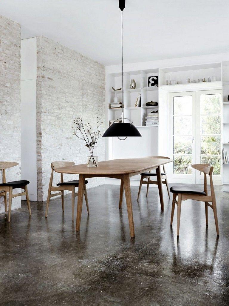 incredible hardwood floor bedroom   49+ Incredible Concrete Floors To Make Home Livable ...