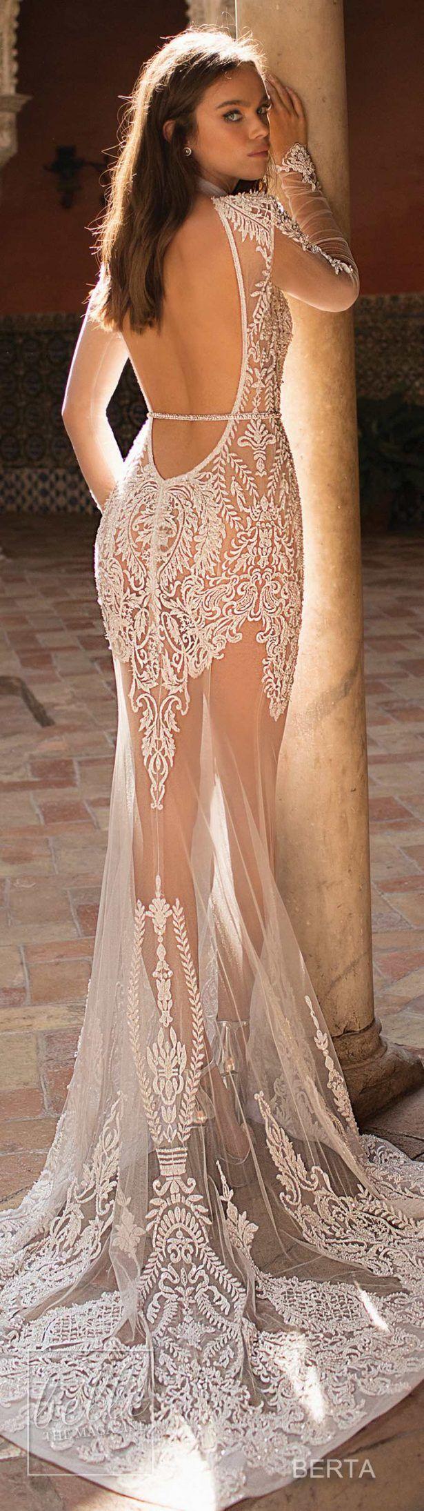 Berta Fall 2018 Seville Wedding Dress Collection | Vestidos de novia ...