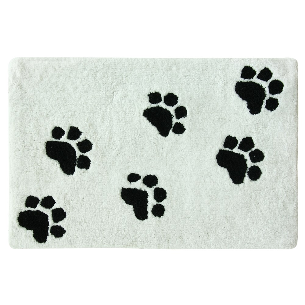 Bacova Guild Paw Prints Bath Rug Products Kids Rugs Rugs