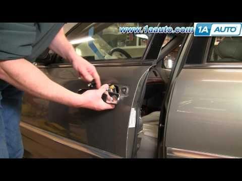 1a Auto Shows You How To Repair Install Fix Change Or Replace A Broken Or Snapped Off Exterior Door With Images Door Handles Exterior Door Handles Interior Window Trim