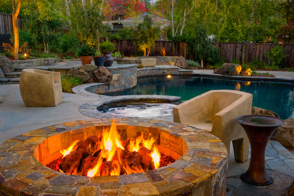 Backyard Oasis Designs image of: backyard oasis ideas fireplace | firepit | pinterest