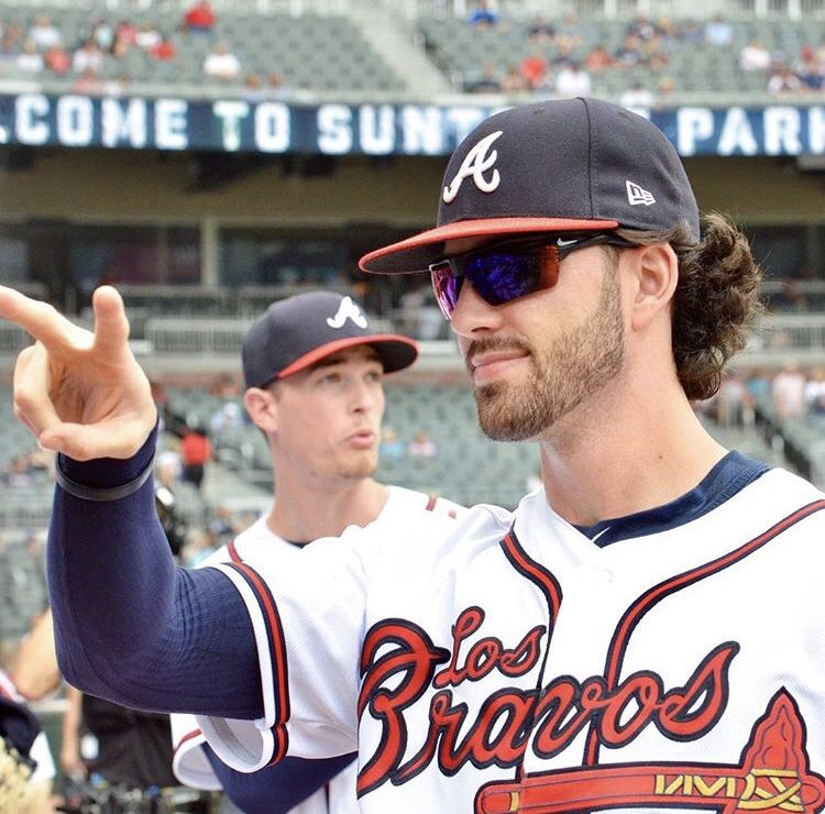 Pin By Catherine Ledbetter On Dansby Swanson Atlanta Braves