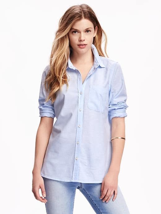 3073fa57880d Relaxed Classic Shirt for Women