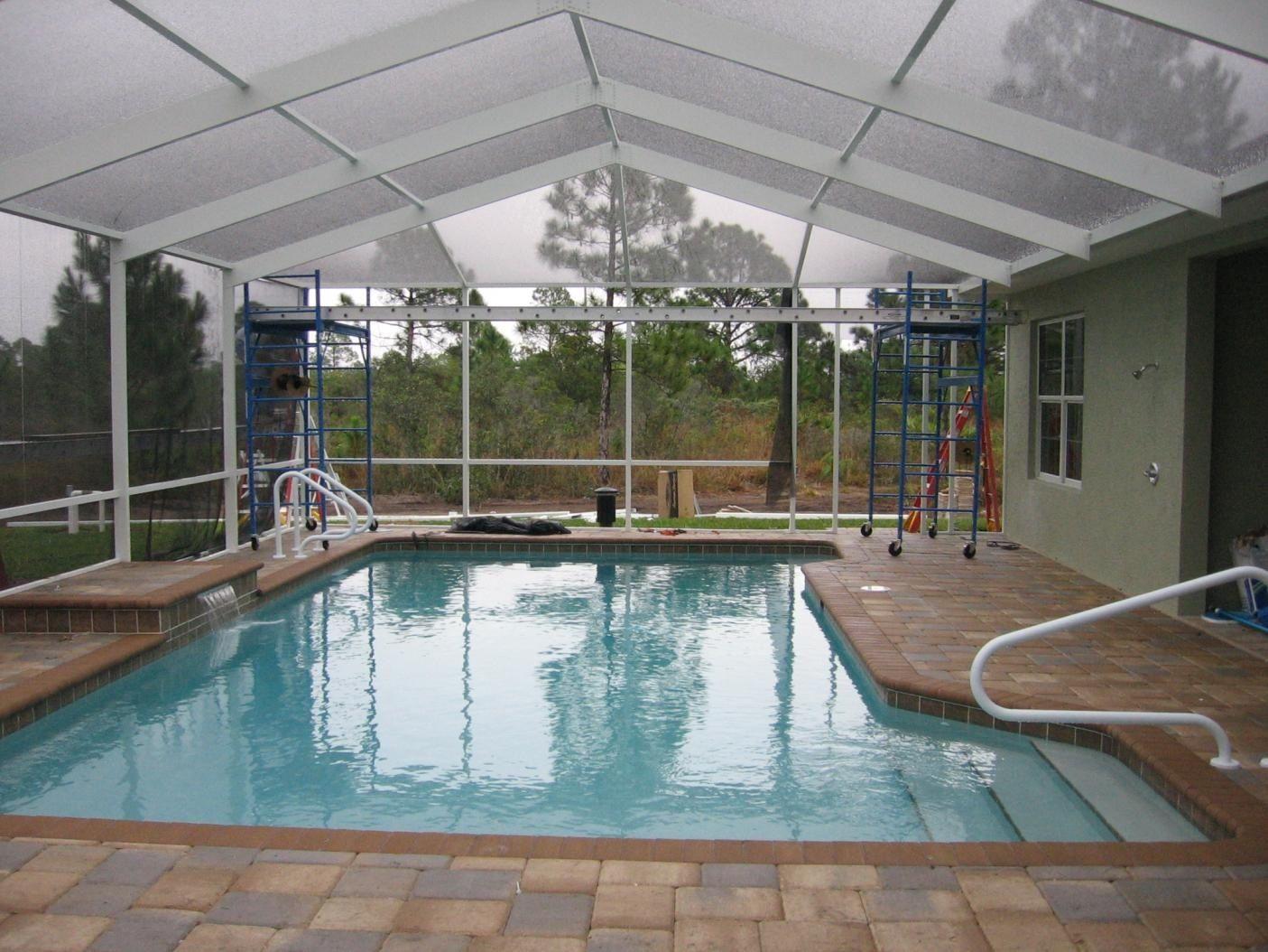 need enclosed pool area