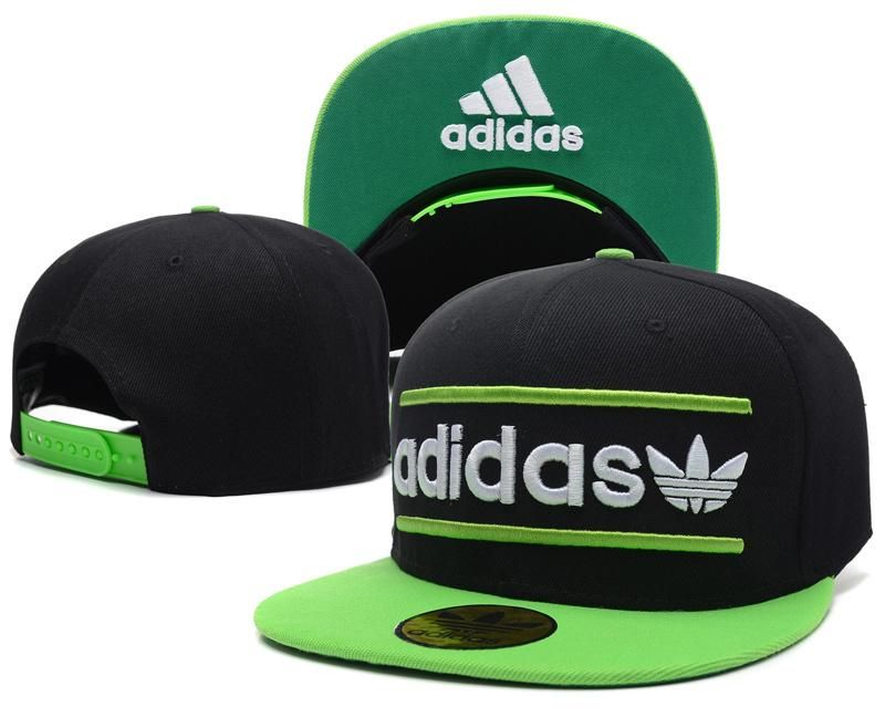 28f6d79a6a3a5 Mens Adidas Originals Heritage USA Top Seller Best Quality Fashion Snapback  Cap - Black   Lime   Lime