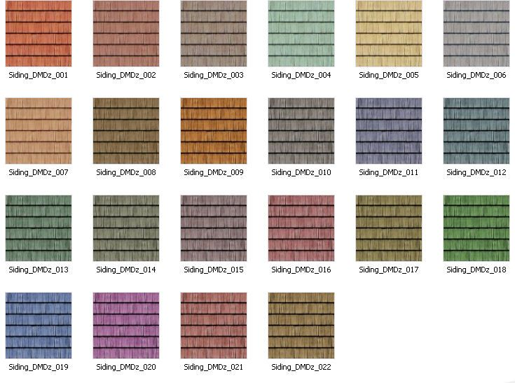Vinyl Siding Colors Houses  Heartland Siding Colors Vinyl Siding