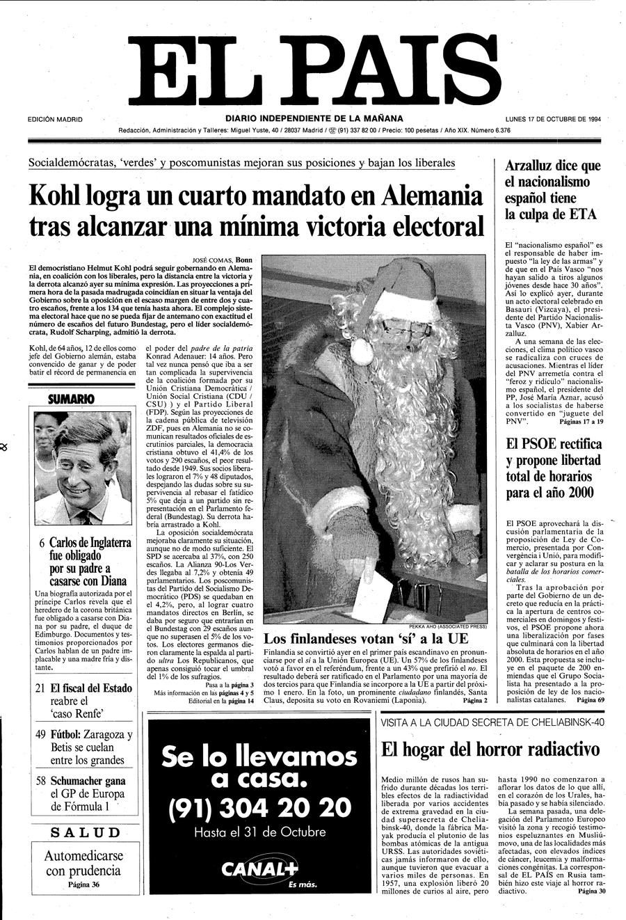17 de Octubre de 1994