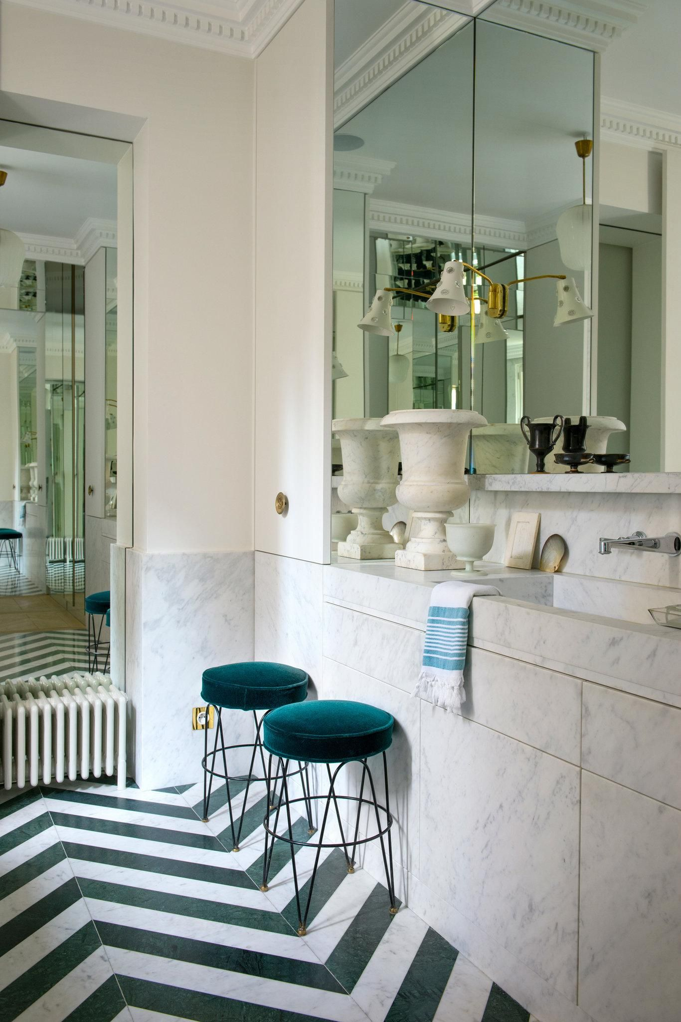 A Nod To The Past In One Designers Paris Home
