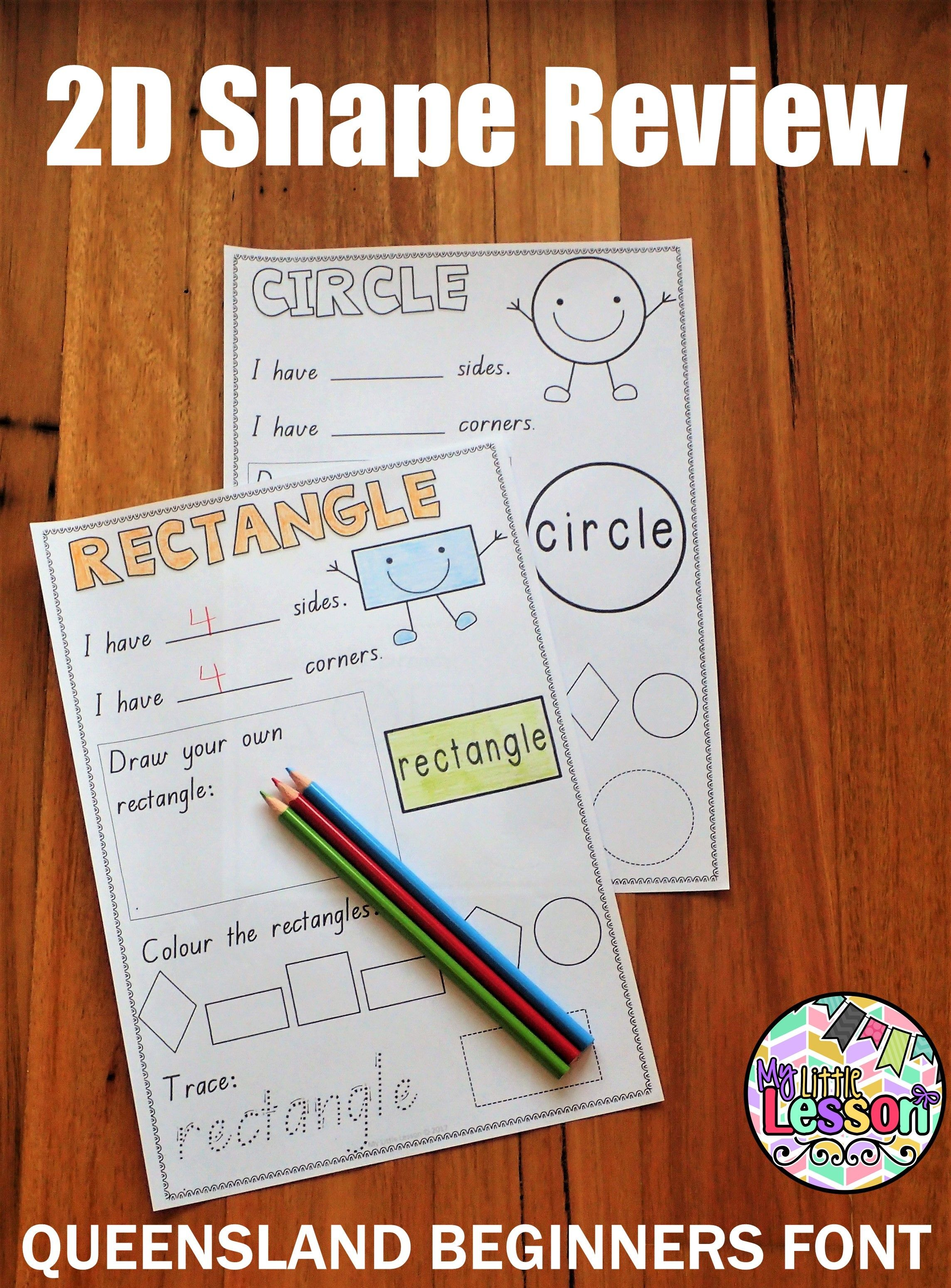 These 2d Shapes Worksheets Have Been Created In The