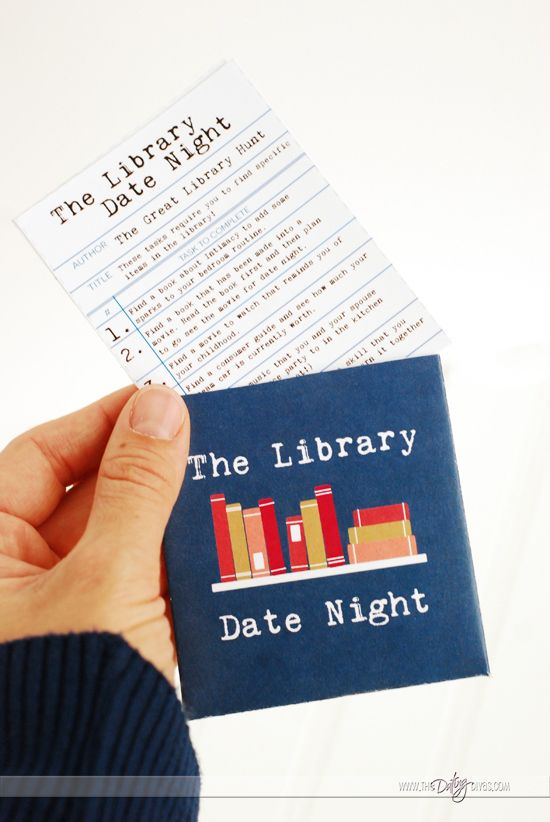 The Library Date Night Idea