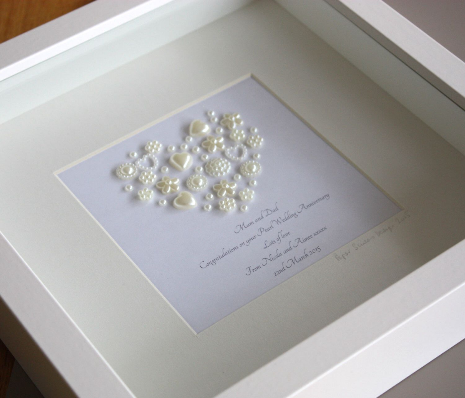 30th Wedding Anniversary Gifts For Husband: Pin By Jackie Dunne On Framed