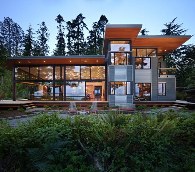 Pacific Northwest Style Homes Port Ludlow House The Residence Is A Compact