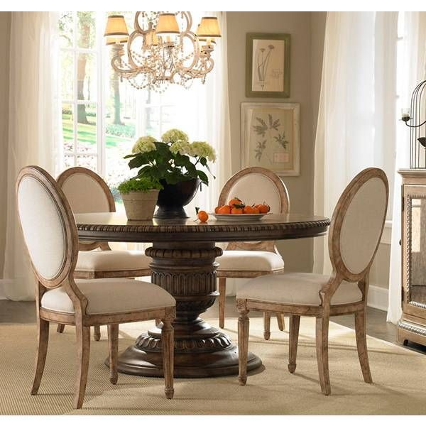 Accentrics Home Round Dining Group Pulaski Star Furniture