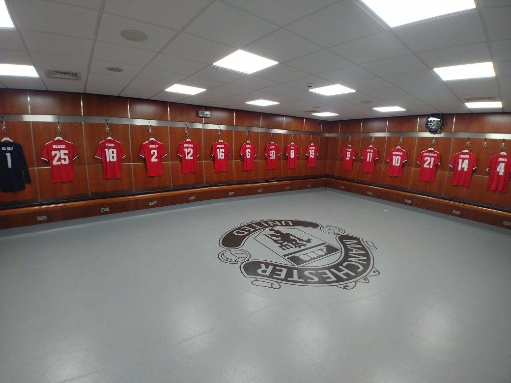Manchester United Home Dressing Room December 2017 Manchester Yunajted