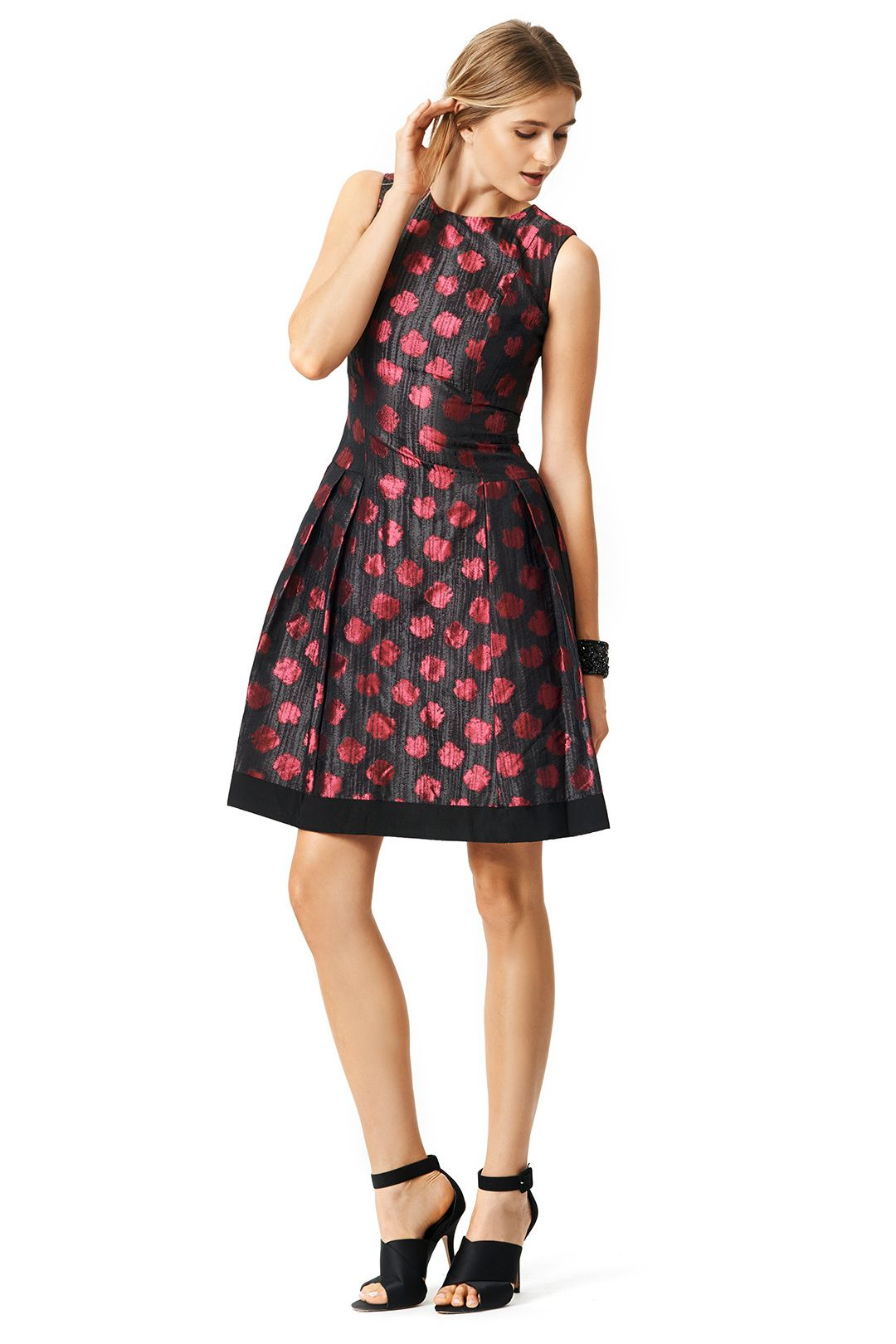 Carmen Marc Valvo Red Alert Dress Dresses, Short dresses