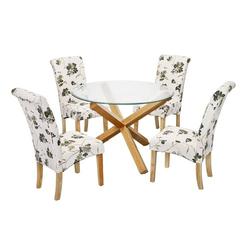 Excellent Riley Ave Oporto Dining Table With 4 Chairs Products In Uwap Interior Chair Design Uwaporg