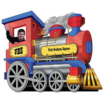 Found This At Shindigz Com Want One For Our Vbs Train Engines Trains Birthday Party Train Theme