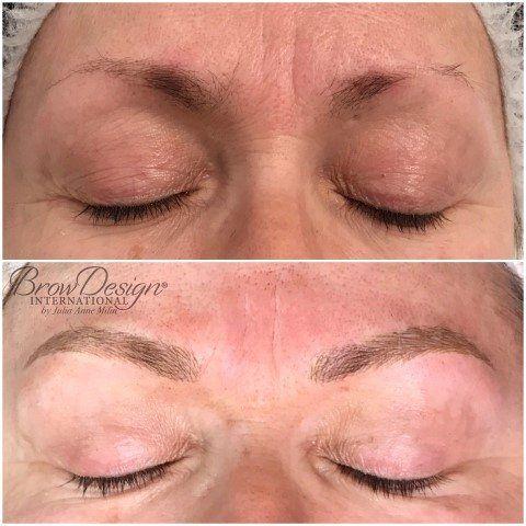 Microblading Portfolio | Microblading eyebrows permanent ...