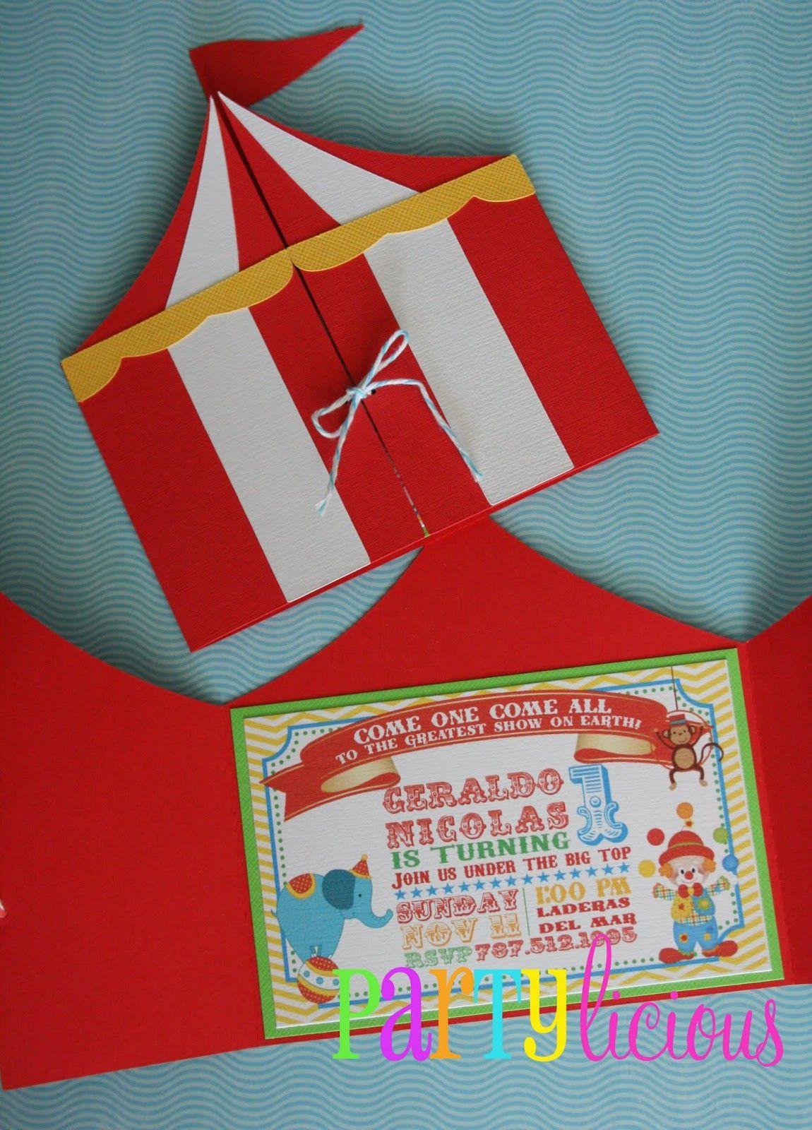 c1b1d67449919 Partylicious   Circus Spectacular Birthday